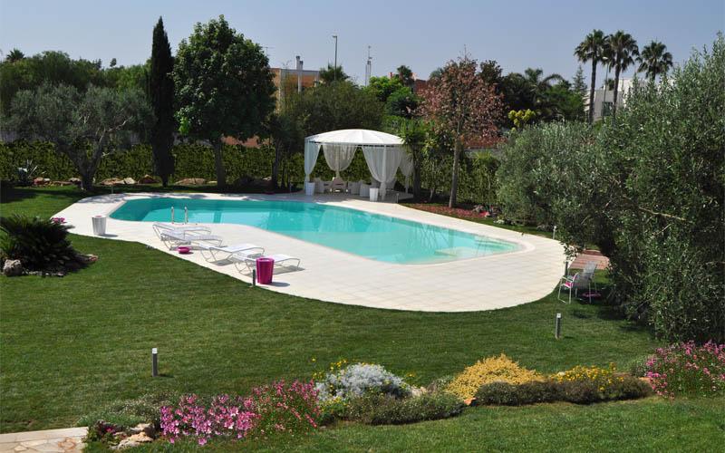 Leidea architettura interior designer grafica - Foto case con giardino ...